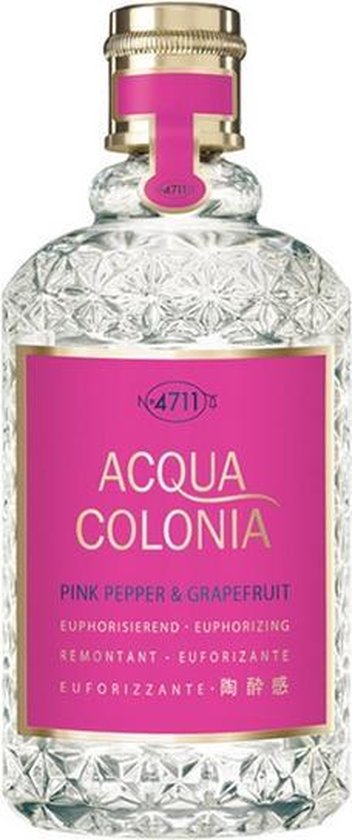 MULTI BUNDEL 2 stuks 4711 Acqua Colonia Pink Pepper And Grapefruit Eau De Cologne Spray 50ml