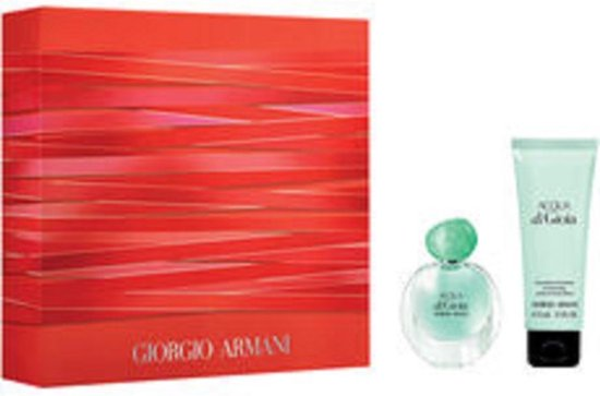 Armani - Acqua di Gioia GIFTSET Edp Spray 30ml/Body Lotion 75ml GIFTSETML