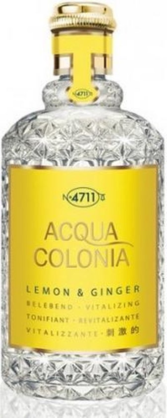 MULTIBUNDEL 3 stuks 4711 Acqua Colonia Lemon And Ginger Eau De Cologne Spray 50ml