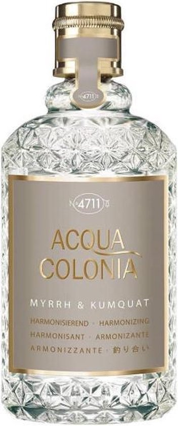 MULTIBUNDEL 3 stuks 4711 Acqua Colonia Myrrh & Kumquat Eau De Cologne Spray 50ml